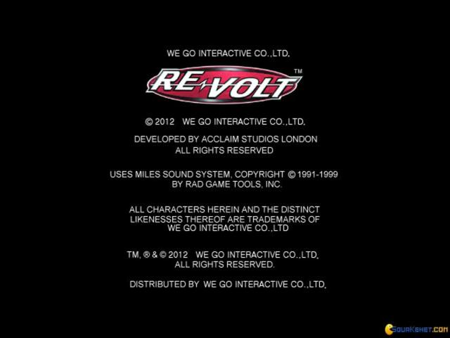 Re-Volt - game cover