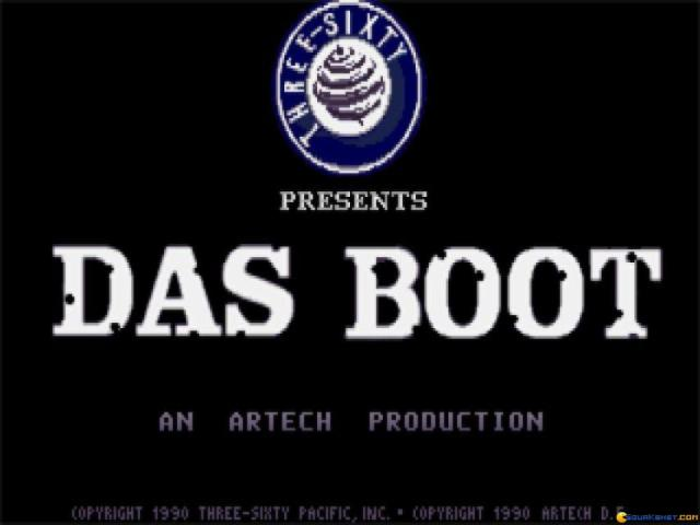 Das Boot - title cover