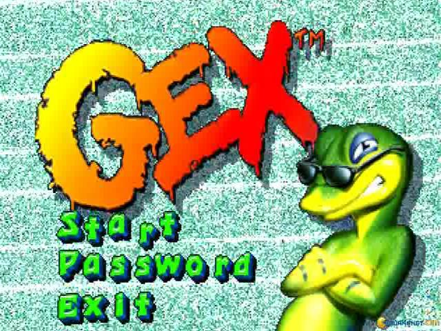 Gex - game cover