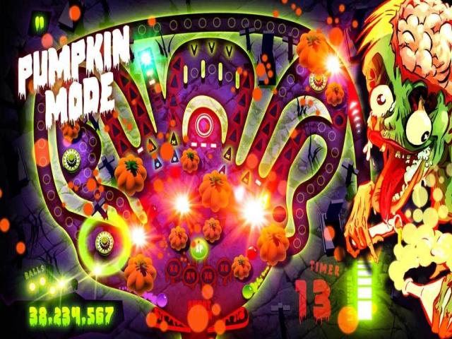 Zombie Pinball - title cover