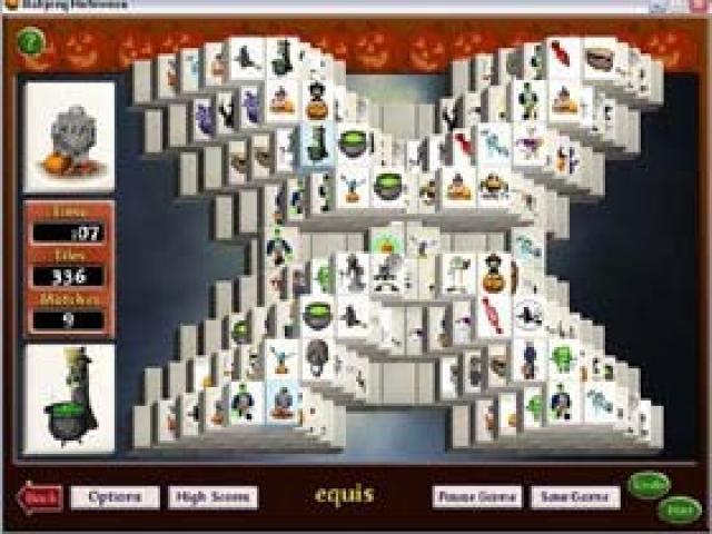 Mahjong Halloween - title cover