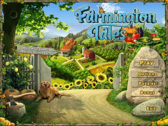 Farmington Tales - title cover
