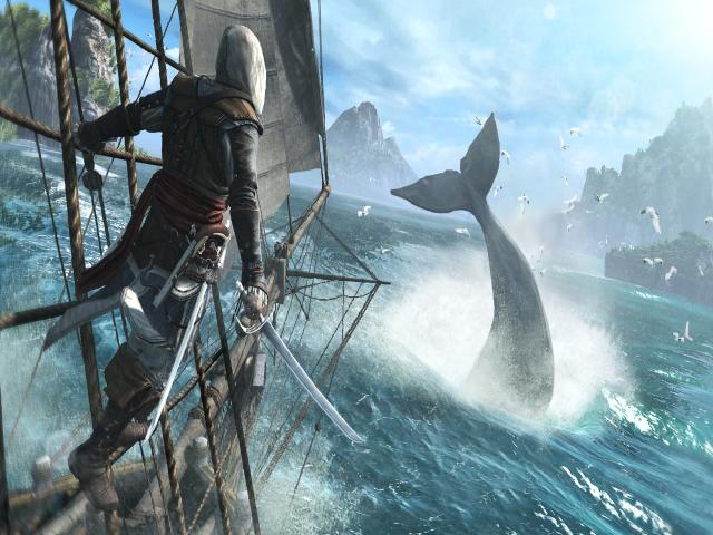 Assassin's Creed IV - Black Flag - title cover