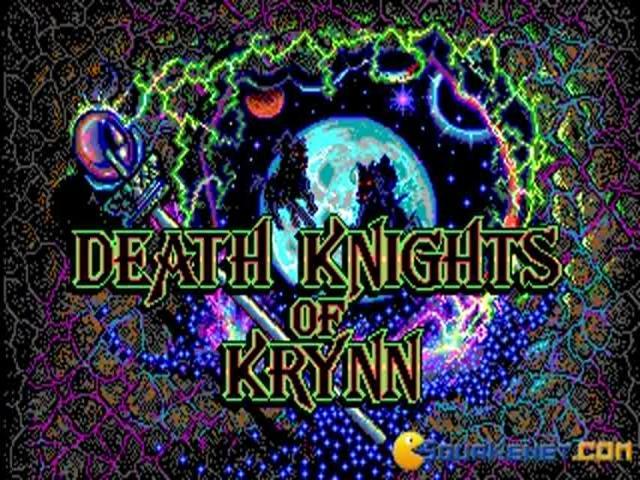 Death Knight of Krynn - title cover