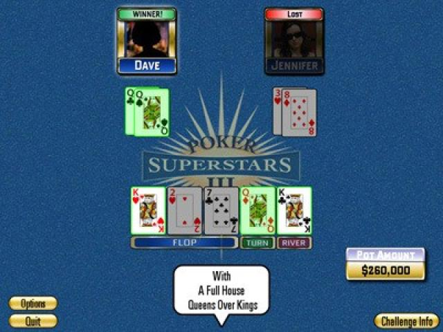 Poker Superstars III - game cover