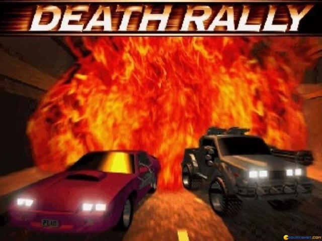 Death Rally - game cover