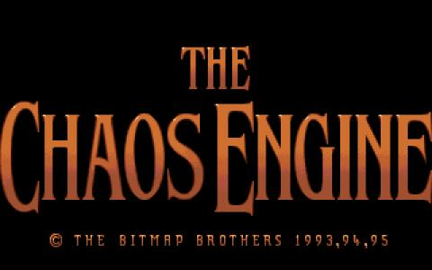 Chaos Engine - title cover
