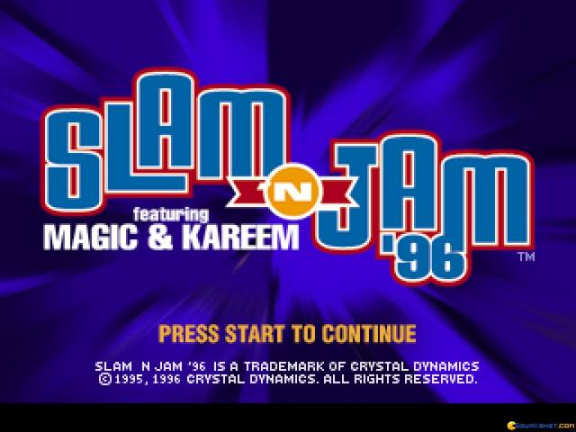 Slam and Jam - game cover