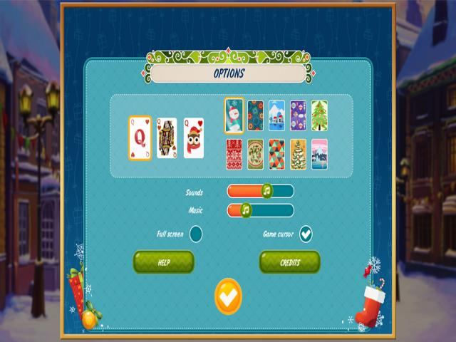 Solitaire Christmas: Match 2 Cards - title cover
