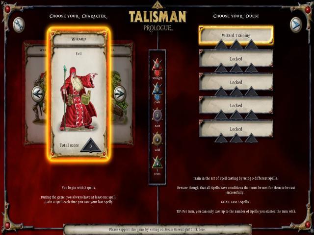 Talisman Prologue - title cover