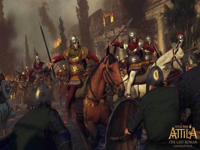 Total War Attila: The Last Roman - title cover