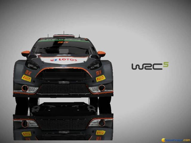 WRC 5 - game cover