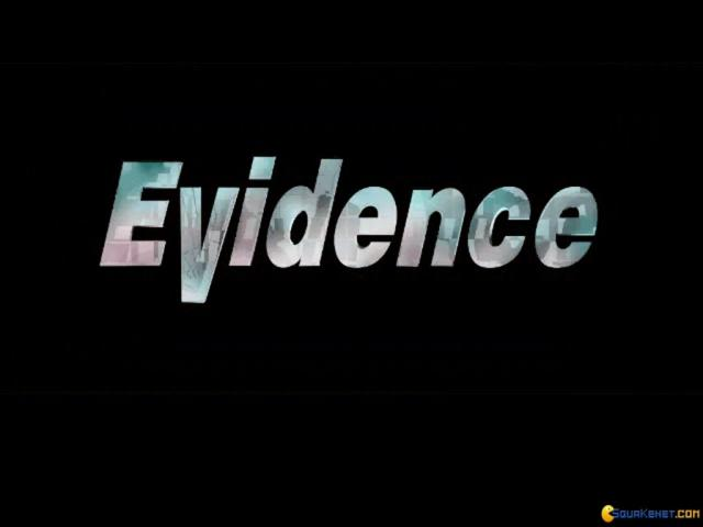 Evidence the Last Report - title cover