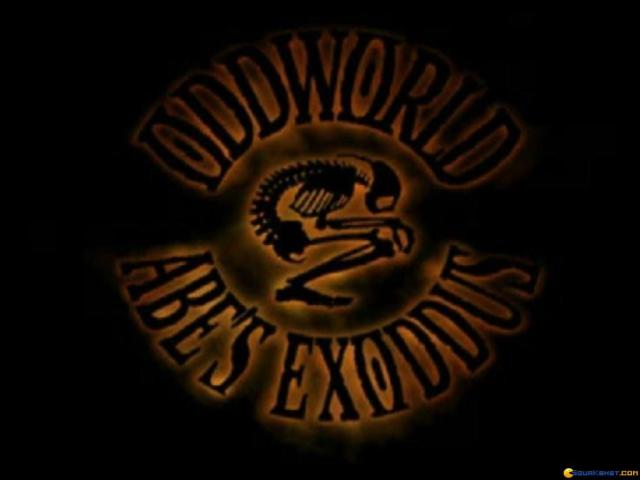 Oddworld: Abe's Exoddus - title cover