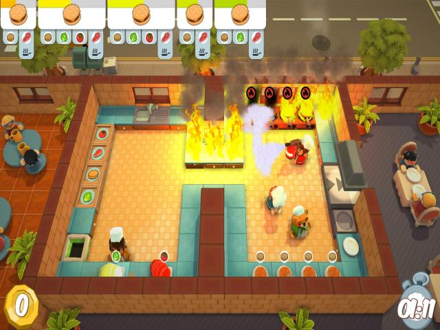 Overcooked - game cover