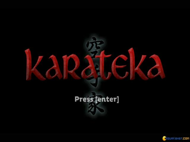 Karateka (2012) - title cover