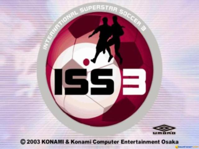 International Superstar Soccer 3 - title cover