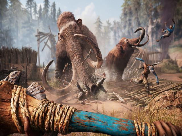 Far Cry Primal - title cover