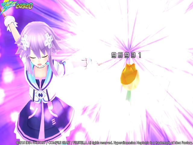 Hyperdimension Neptunia Re;Birth3 V Generation - title cover