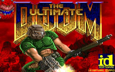 The Ultimate Doom - game cover