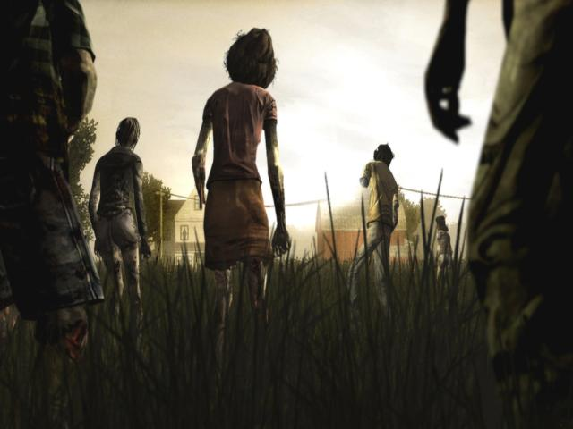 The Walking Dead - title cover