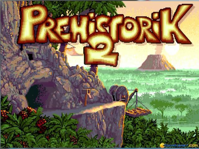 Prehistorik 2 - title cover