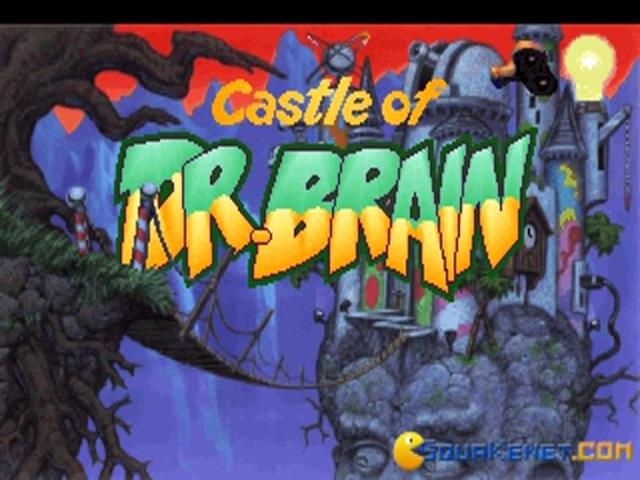 Castle of Dr. Brain - title cover