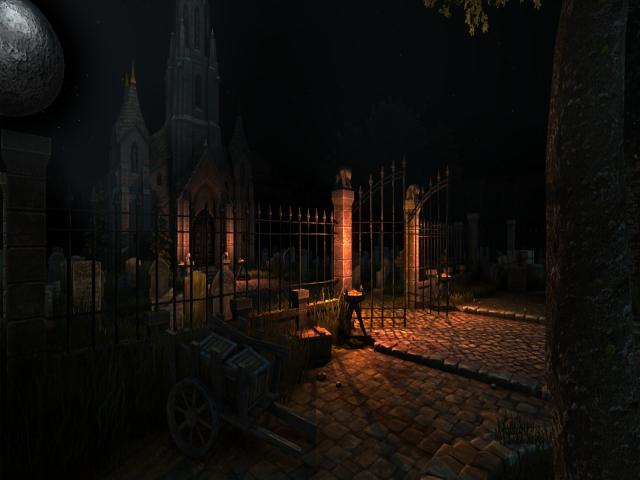In The Dead Of Night - Urszula's Revenge - title cover