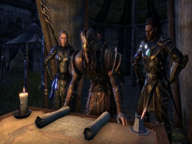 The Elder Scrolls Online - title cover
