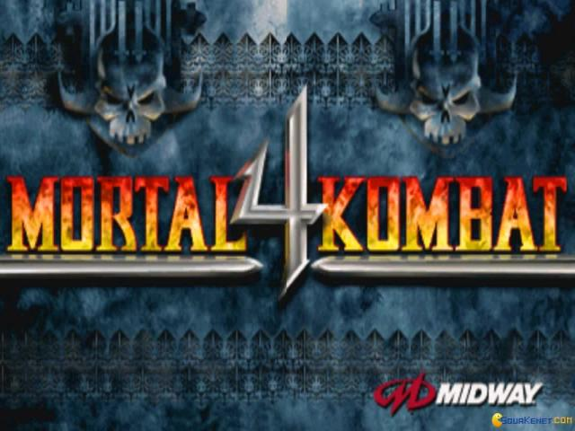 Mortal Kombat 4 - game cover