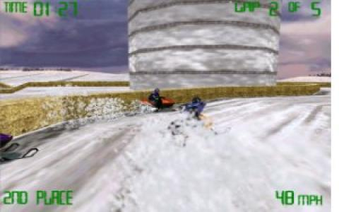 Snowmobile Racing - game cover
