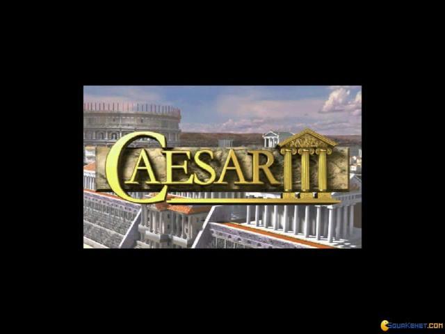 Caesar 3 - title cover