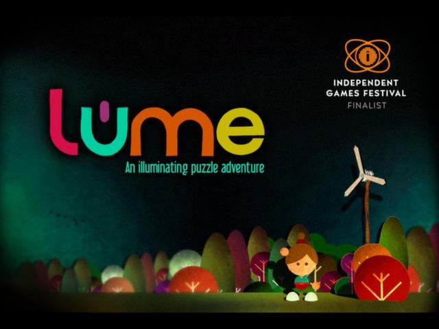 Lume - title cover