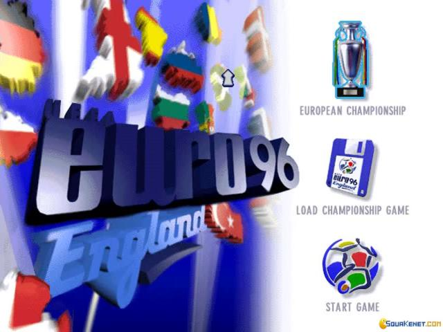 UEFA Euro 96 England - game cover