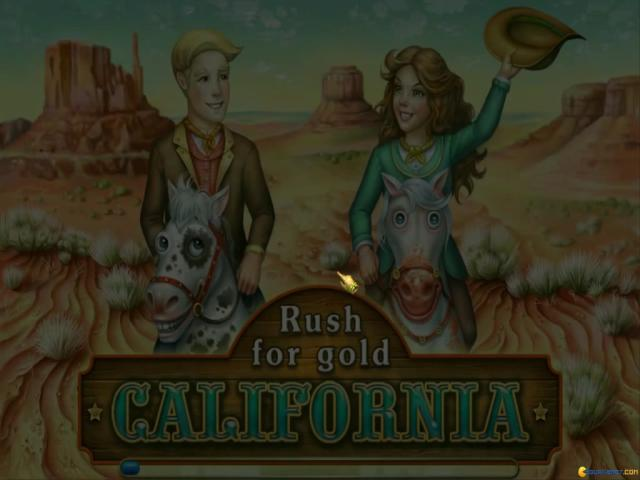 Rush for Gold: California - title cover
