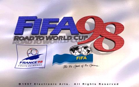 FIFA 98 Road to World Cup - game cover