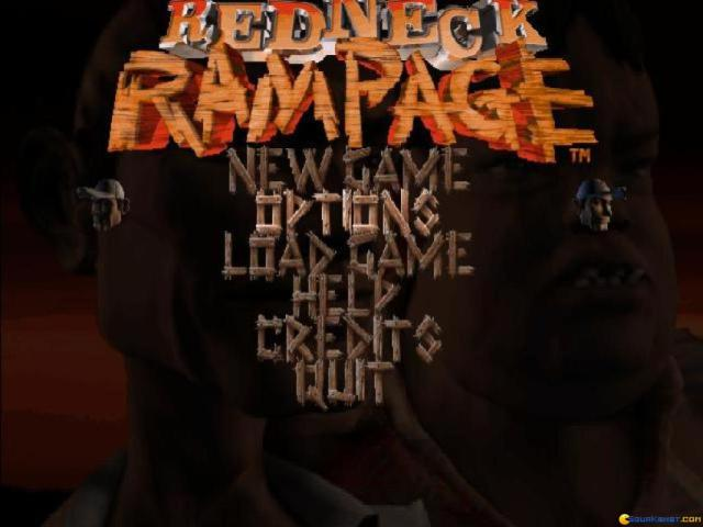 Redneck Rampage - game cover