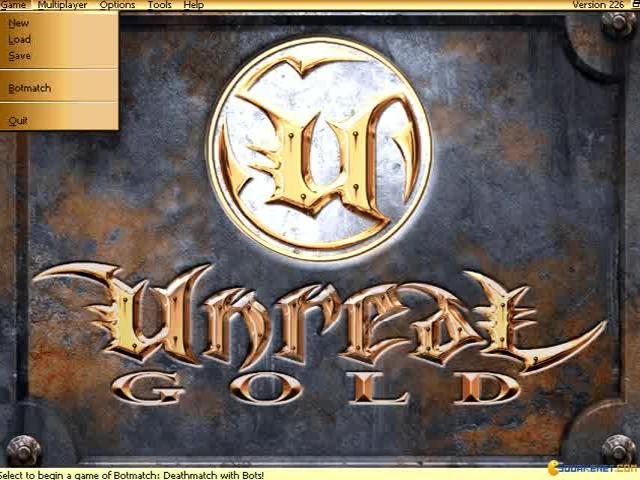 Unreal - game cover