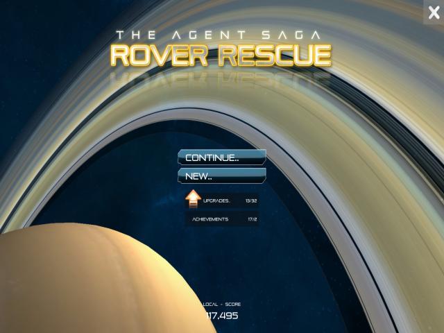 Rover Rescue - title cover