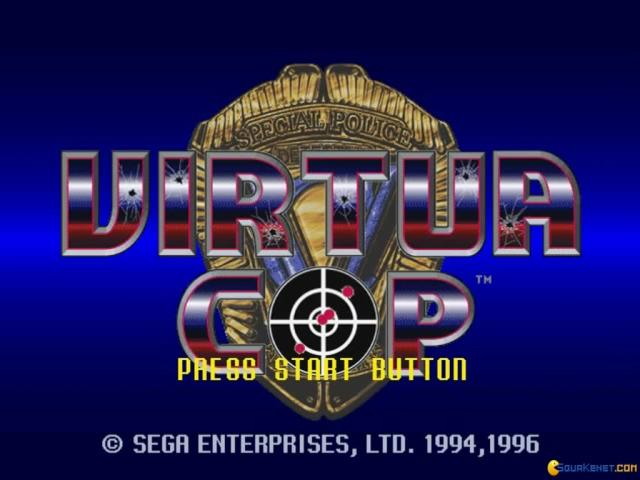 Virtua Cop - title cover