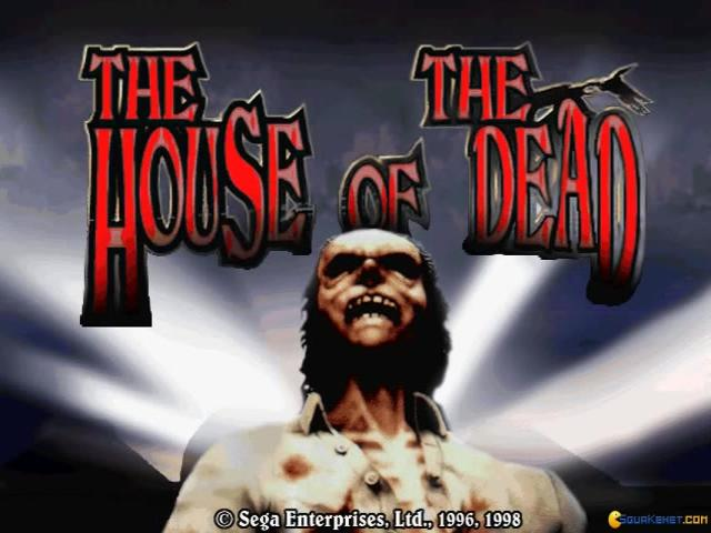The House of the Dead - game cover