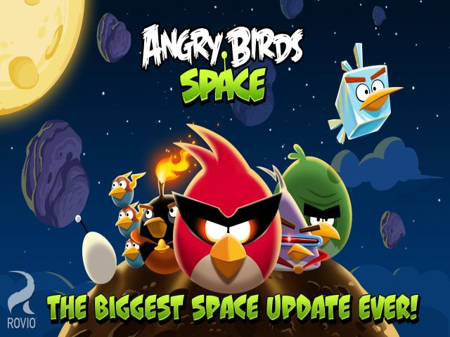 Angry Birds Space - game cover