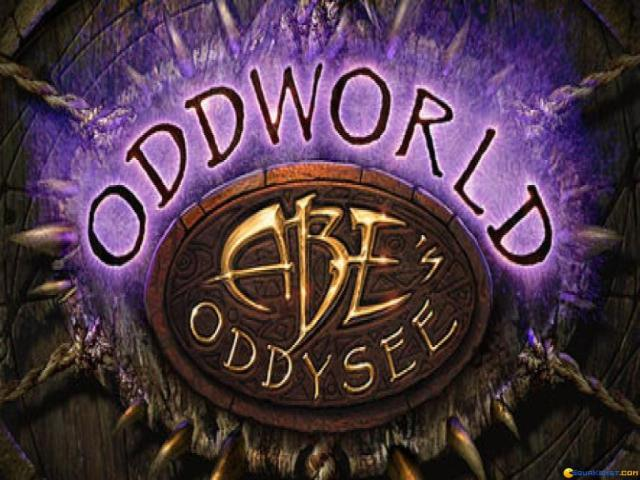 Oddworld: Abe's Oddysee - title cover