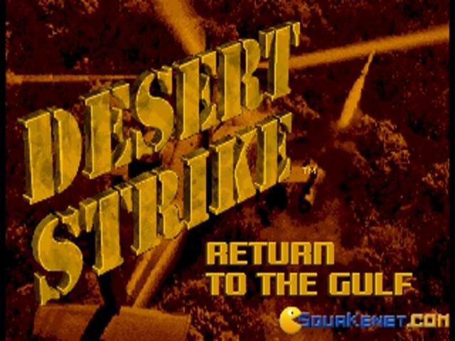 Desert Strike - title cover