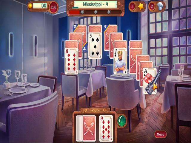 Chef Solitaire: USA - title cover