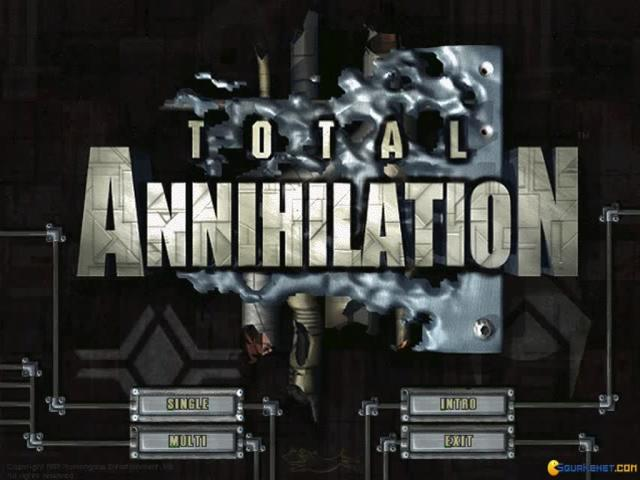Total Annihilation - title cover