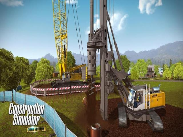 Construction Simulator Gold Edition - game cover