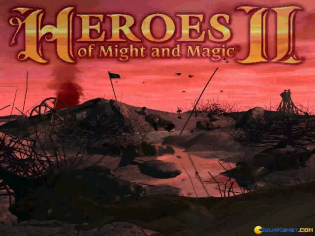 Heroes of Might and Magic 2 - title cover
