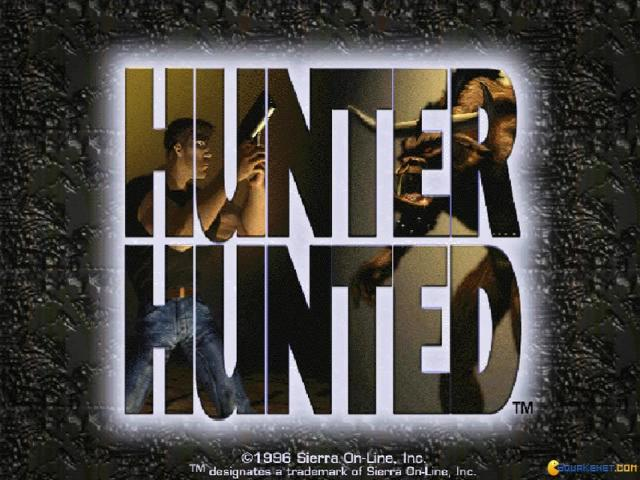 Hunter Hunted - title cover