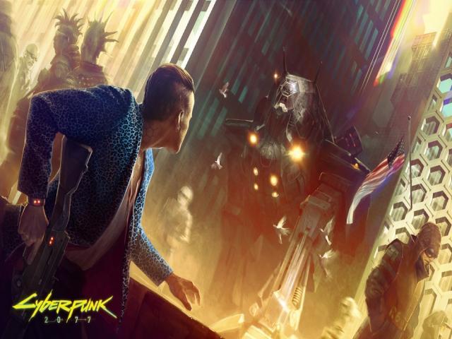 Cyberpunk 2077 - game cover